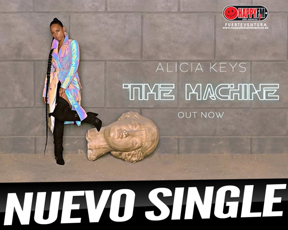 Alicia Keys estrena el single «Time Machine»