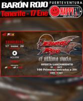Gira de despedida de Barón Rojo en Tenerife