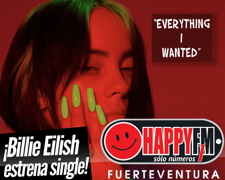 Billie Eilish emociona con su nuevo single «Everything I Wanted»