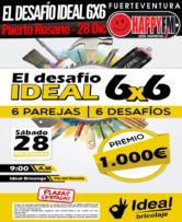 ¿Quieres ganar 1.000 euros? Participa en El Desafío Ideal 6×6