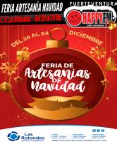Feria de artesanías de Navidad en el Centro Comercial Las Rotondas
