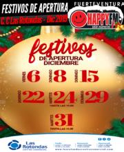 Festivos de apertura en el Centro Comercial Las Rotondas en el mes de Diciembre