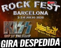Kiss se despedirá de sus fans en nuestro país en el Rock Fest Barcelona