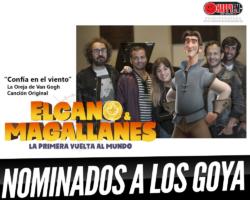 La Oreja de Van Gogh nominados a Los Goyas por el tema «Confía en el Viento (Elcano y Magallanes, La Primera Vuelta al Mundo)»