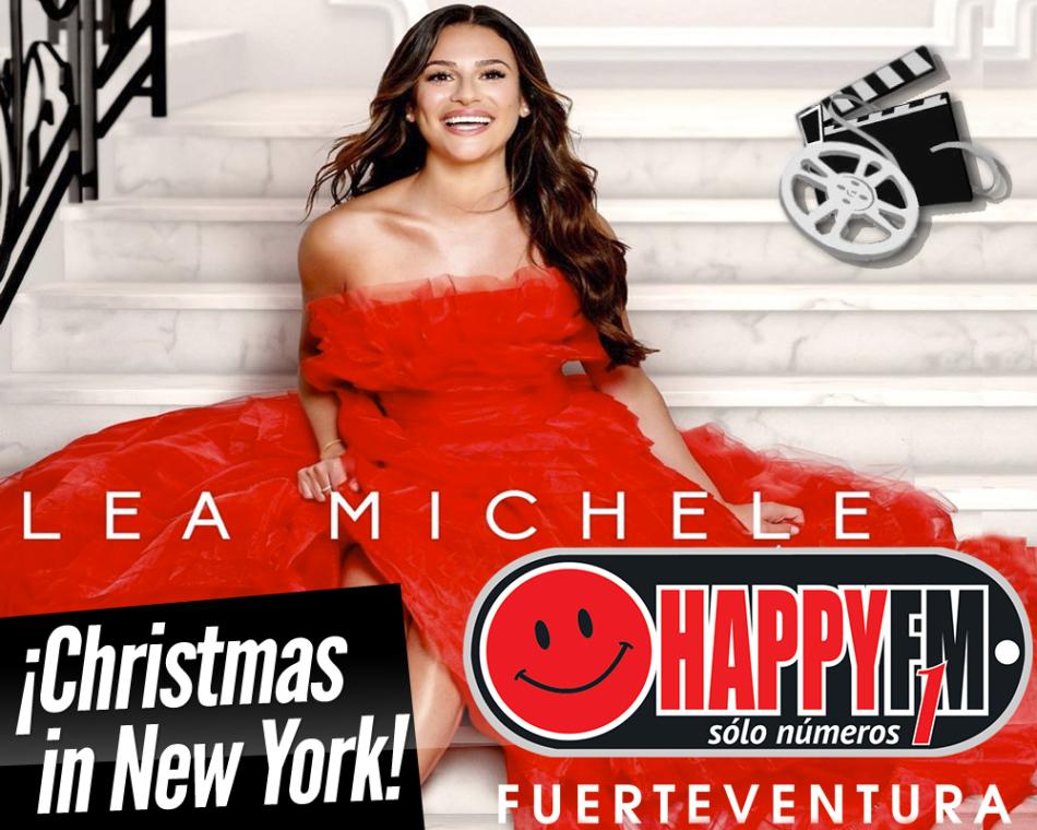 Lea Michele estrena el videoclip del tema «Christmas in New York»