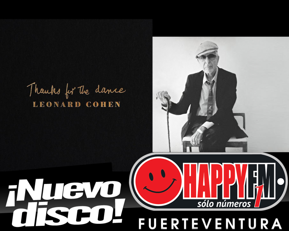 Disponible el disco «Thanks for the Dance» de Leonard Cohen
