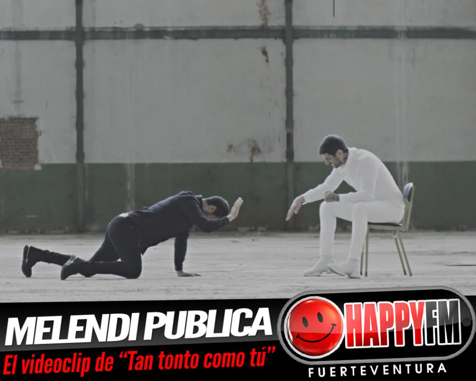 Melendi publica el videoclip del tema «Tan tonto como tú»