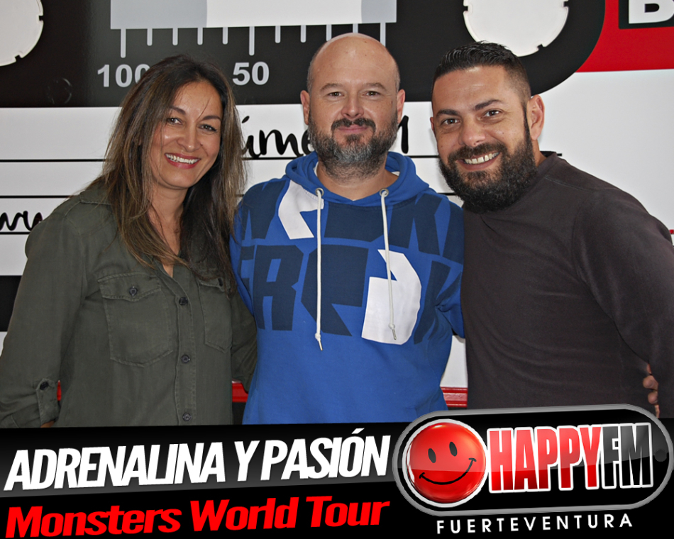 Adrenalina y pasión con David y Peña, responsables del show Monsters World Tour