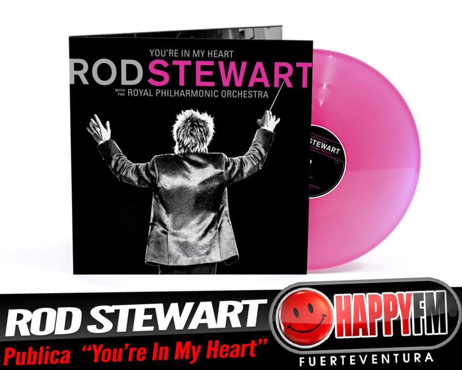 Ya está disponible el nuevo disco de Rod Stewart