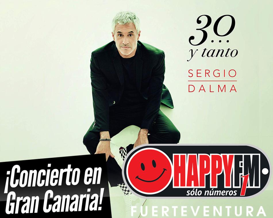Sergio Dalma de concierto en Gran Canaria con su nuevo disco