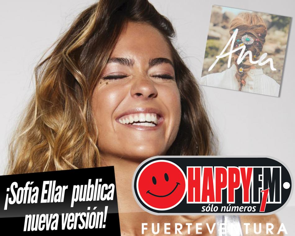 Sofía Ellar publica una nueva versión de «Ana» acompañada por la propia protagonista