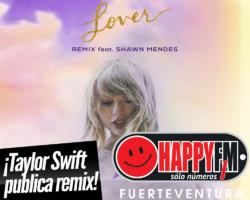 Taylor Swift lanza su nueva remezcla del tema «Lover» con la colaboración de Shawn Mendes