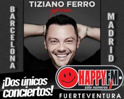 Tiziano Ferro anuncia conciertos en Madrid y Barcelona