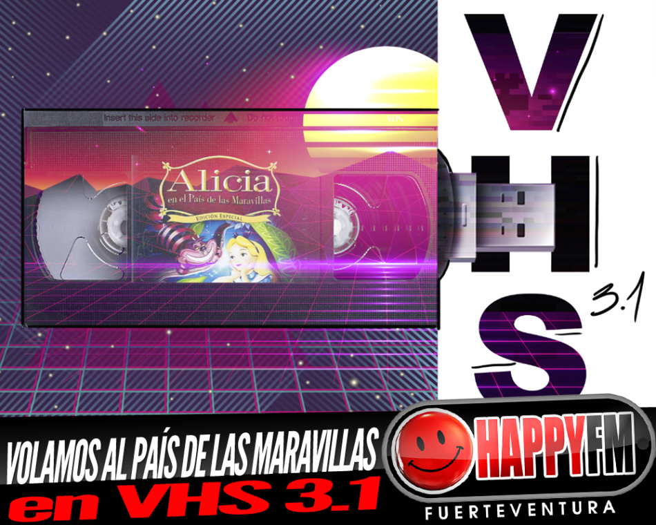Viajamos al País de las Maravillas con Alicia en VHS 3.1