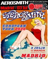 Aerosmith pasará por Madrid con su Tour 2020