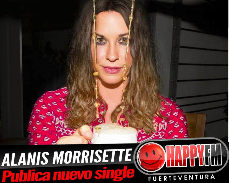 Alanis Morissette publica un nuevo adelanto de su próximo disco