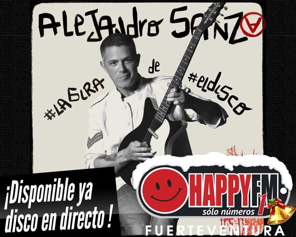 Alejandro Sanz lanza el disco en directo #LAGIRA de #ELDISCO