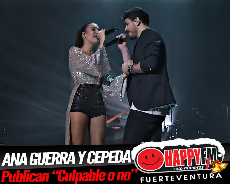 Cepeda y Ana Guerra presentan el single conjunto «Culpable o no»