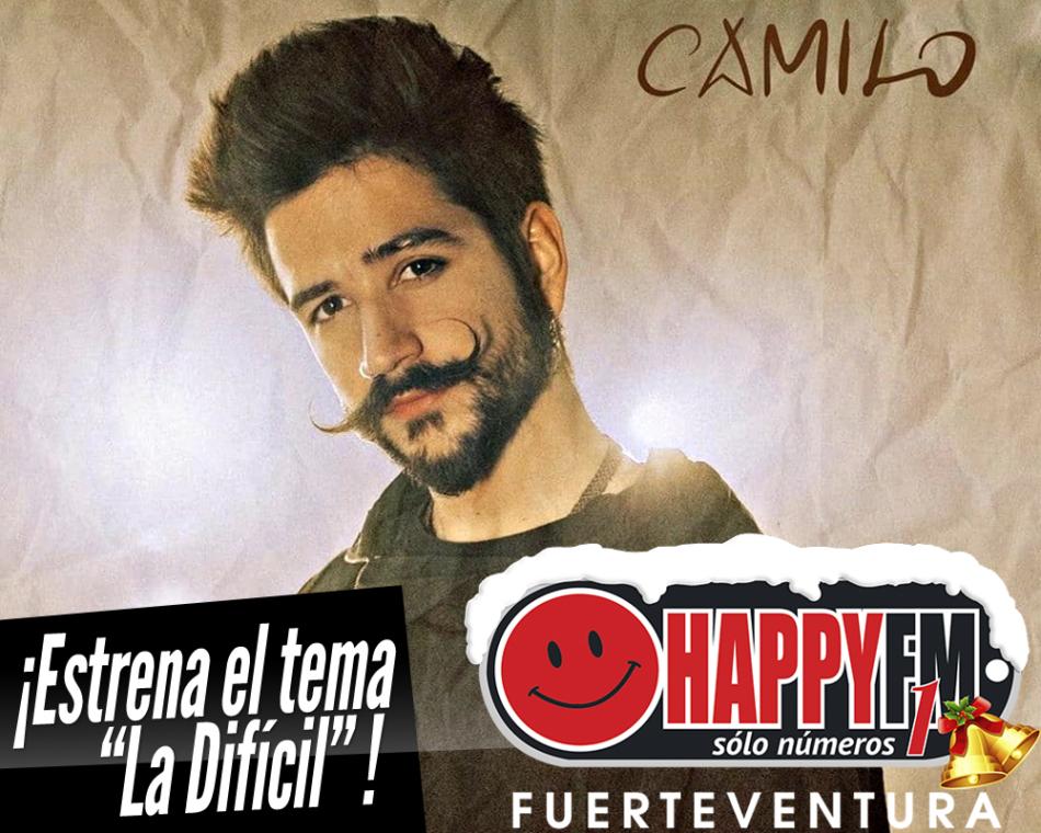 Camilo estrena el single «La difícil»