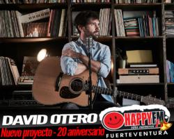 David Otero celebra sus 20 años de carrera musical con un nuevo proyecto