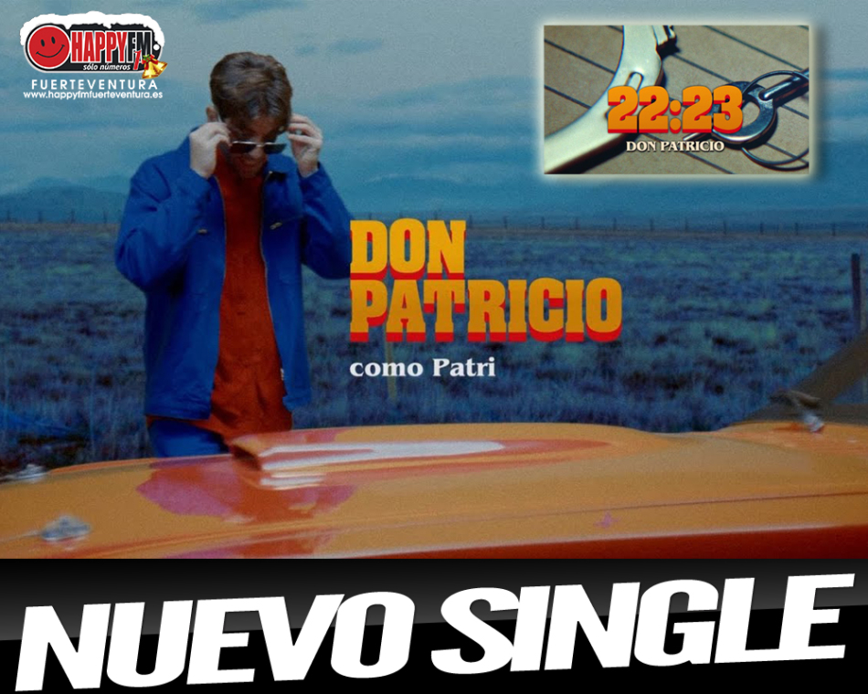 Don Patricio despide el año publicando el single «22:23»