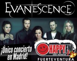 Único concierto de Evanescence en Madrid en 2020