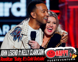 John Legend y Kelly Clarkson reeditan el clásico navideño «Baby, It's Cold Outside»