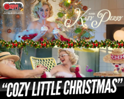 Katy Perry publica el single navideño «Cozy Little Christmas»