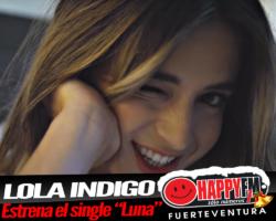 «Luna» es lo nuevo de Lola Indigo