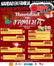 Navidad en familia en las zonas comerciales abiertas de Puerto del Rosario: del 13 de Diciembre al 05 de Enero