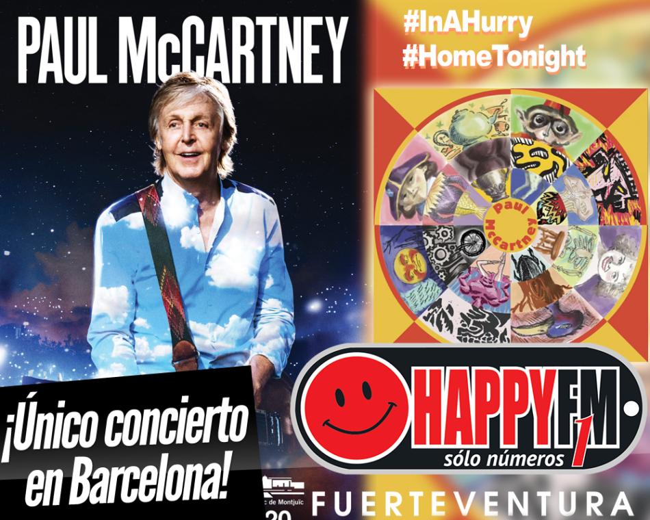 Confirmado un único concierto de Paul Mc Cartney en nuestro país