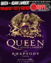 Queen y Adam Lambert de concierto en Madrid con 'The Rhapsody Tour'