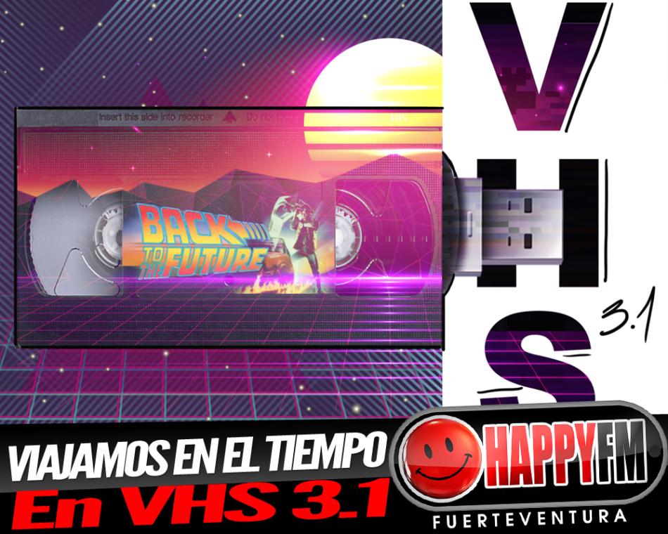 Viajamos en el tiempo en VHS 3.1 con la película «Regreso al Futuro»