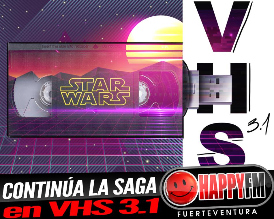 Continúa la saga de Star Wars en VHS 3.1