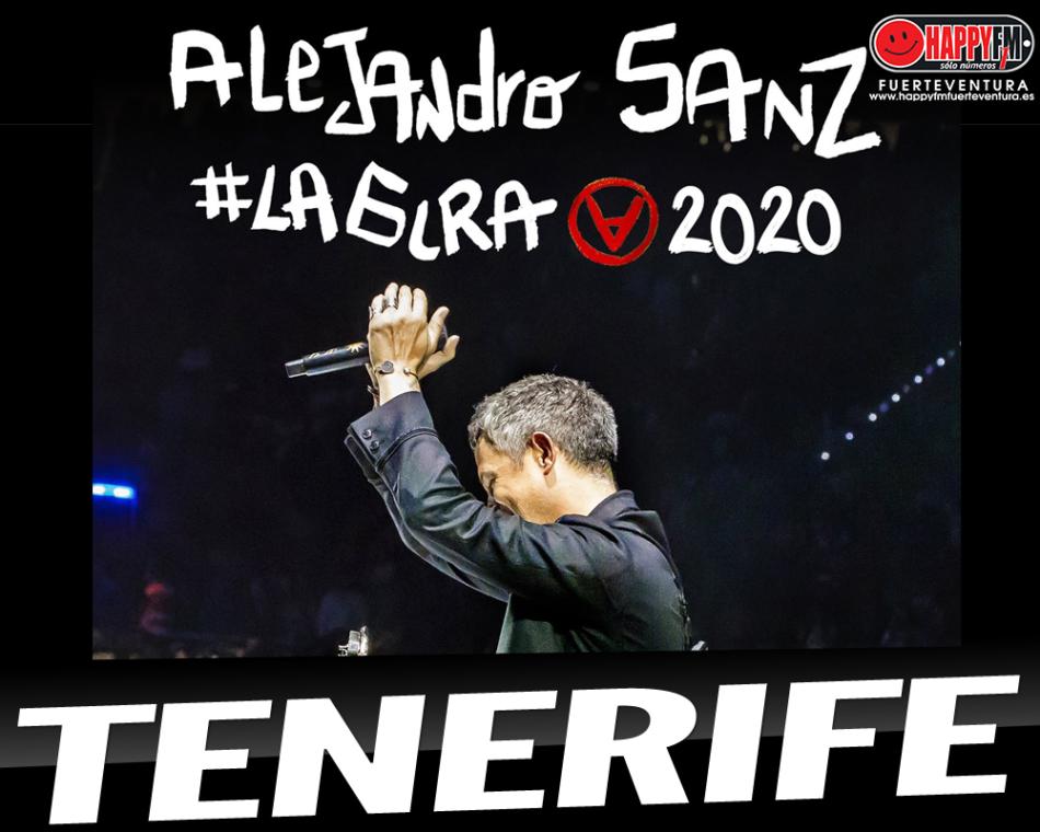 Concierto de Alejandro Sanz en Tenerife