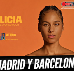 Alicia Keys pasará con su Tour por Madrid y Barcelona