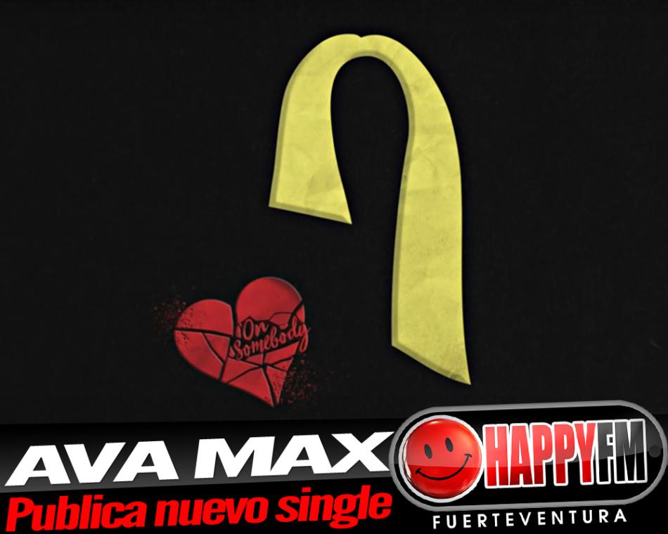Ava Max publica un nuevo single titulado «On Somebody»