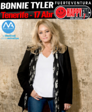 Bonnie Tyler de concierto en Tenerife