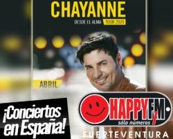 Chayanne ofrecerá seis conciertos en nuestro país