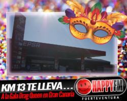 La Estación de Servicio Cepsa Km 13 te lleva a la Gala Drag Queen del Carnaval de Las Palmas de Gran Canaria