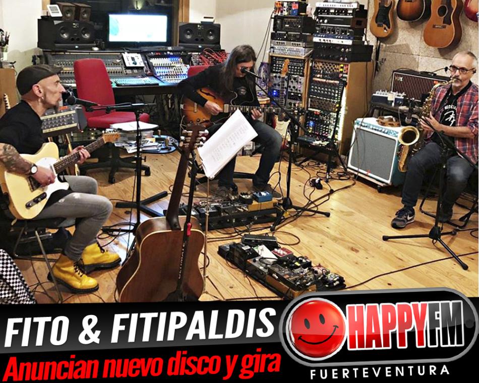Fito & Fitipaldis anuncian nuevo disco y gira
