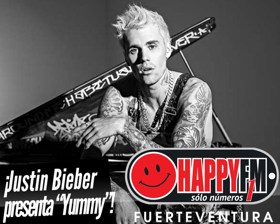 Justin Bieber presenta el single «Yummy»