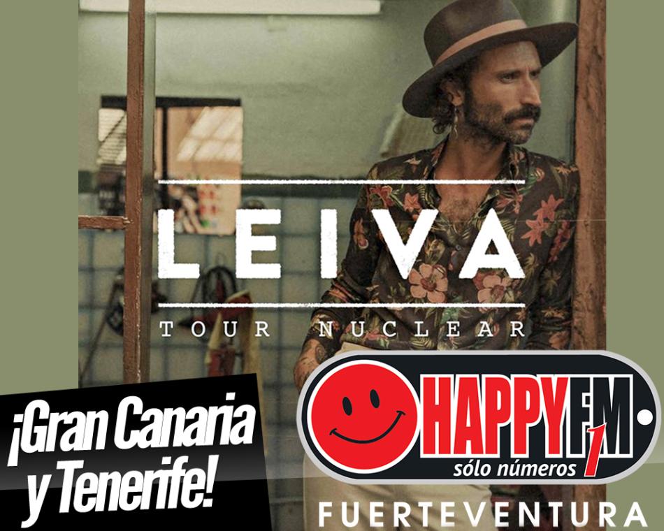 Leiva estará de concierto en Gran Canaria y Tenerife en Abril