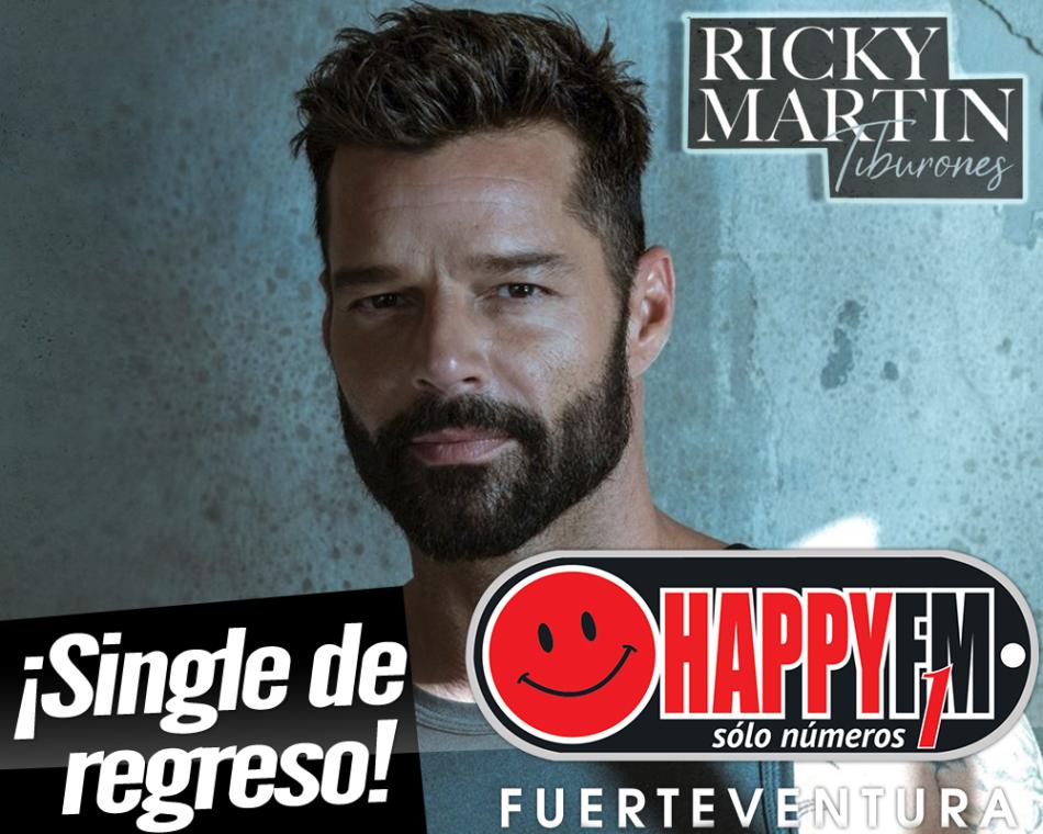 «Tiburones» es el regreso musical de Ricky Martin