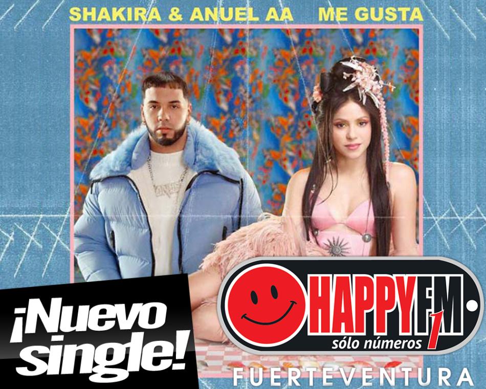 «Me gusta» es la colaboración entre Shakira y Anuel AA