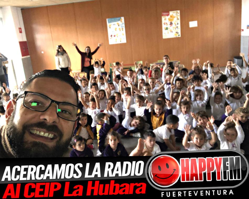 Visitamos el CEIP La Hubara