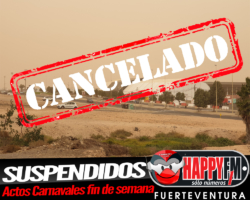 Suspendidos los actos del Carnaval este fin de semana en Puerto del Rosario