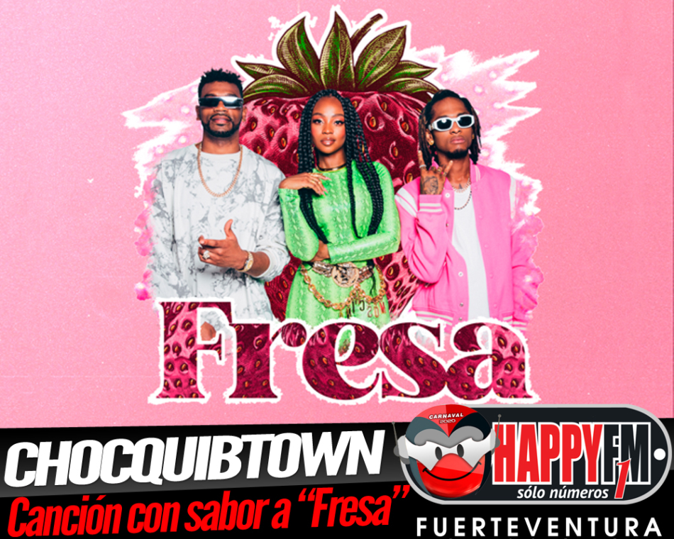 Chocquibtown estrenan single con sabor a «Fresa»