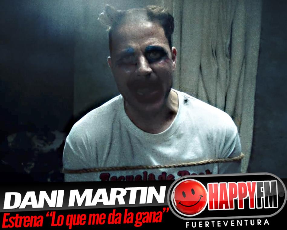 Por fin podemos escuchar «Lo que me da la gana», lo nuevo de Dani Martín
