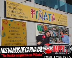 Nos vamos de Carnaval con Piñata…18 años acompañándote en tus fiestas